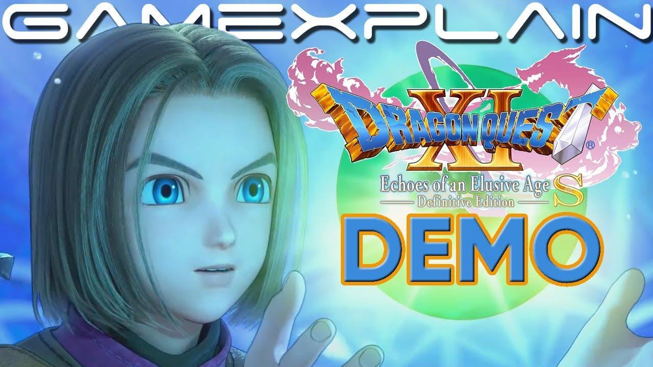 dragon quest 11 switch demo