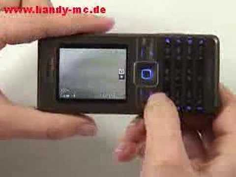 Sony-Ericsson K770i Kamera