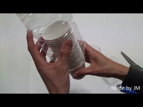 DIY paper cup dispenser - YouTube