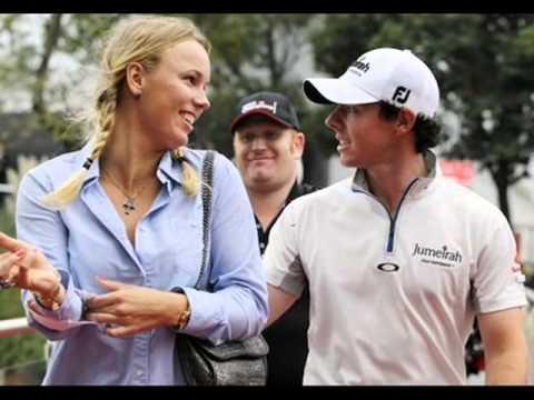 Caroline Wozniacki Rory Mcilroy Kiss 2014 Caroline Wozniack...