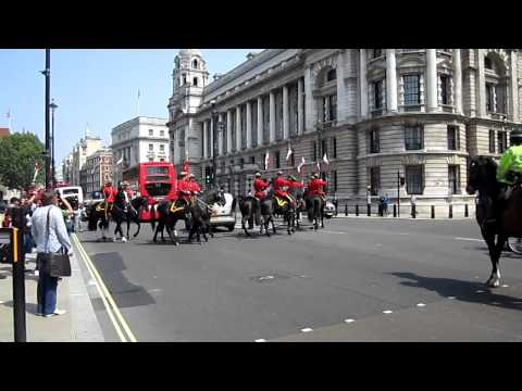 Royal Canadian Mounted Police, Horseguard's Parade London
