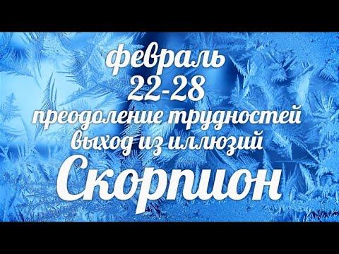 ♏СКОРПИОН✨22-28 февраля 2021/Таро-прогноз/Таро-Гороскоп Скорпион/Taro_Horoscope Scorpiо/Winter 2021.