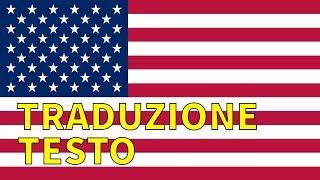 Inno Nazionale Stati Uniti - USA National Anthem traduzione/sottotitoli in Italiano