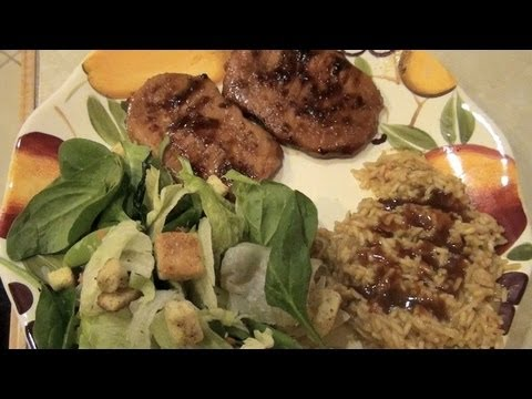 Simple Marinated Baked Pork Chops