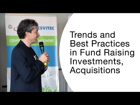 Entrepreneurship 360° - Trends and Best Practices in Fund Ra