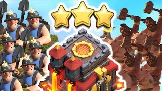 When To TH10 Mass Miner vs Mass Hog Rider Attack for 3 Stars in 2017 | Clash of Clans