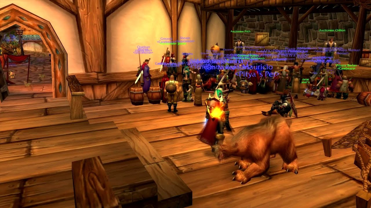 VANILLA WOW Stormwind Auction House Time Lapse