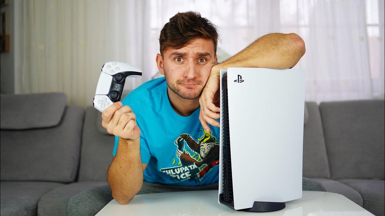 Vážně mi dorazil Playstation 5?! Co na něj říkám?