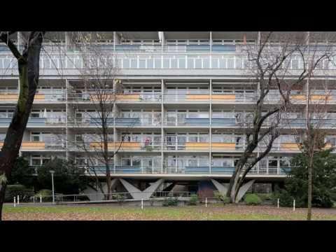 Three Buildings in Hansaviertel, Berlin, Germany