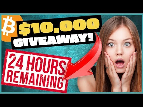 $10,000 Cryptocurrency Giveaway!!! 24 HOURS LEFT!!!