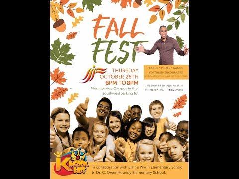 Mountaintop 2017 Family Fall Fest w/ Elaine Wynn & Dr. C. Owen Roundy Elementary Schools