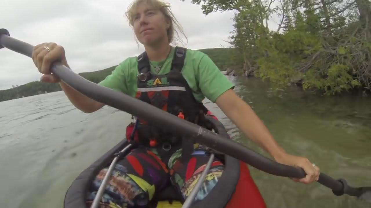 Feathercraft Kurrent Folding Travel Kayak | Review | Adventure Kayak |  Rapid Media  Adventure Kayak Magazine 02:01 HD