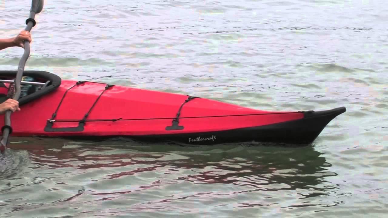 Feathercraft Kurrent Folding Travel Kayak | Review | Adventure Kayak |  Rapid Media