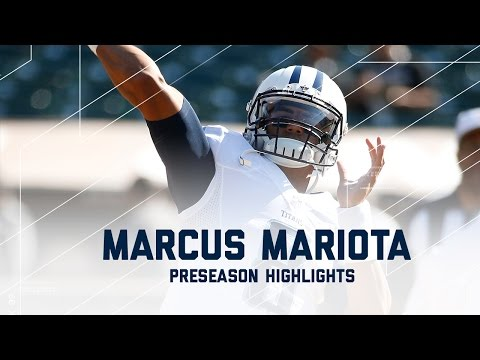 Marcus Mariota Highlights | Titans vs. Raiders | NFL