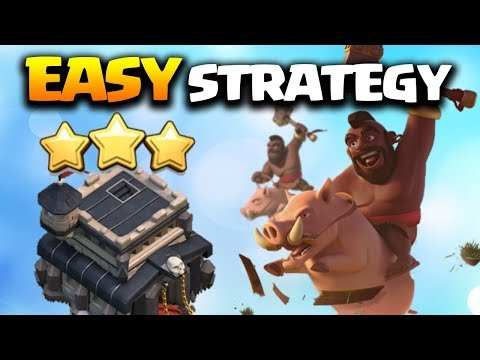 Learn This Easy and Reliable TH9 3 Star Attack Strategy 2018 in Clash of Clans