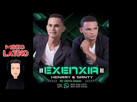 Grupo Exenxia -  Mi Ultimo Deseo  Bachata 2016