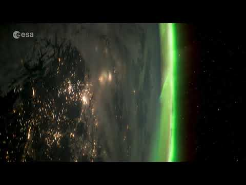 VITA mission 'Timelapse a Day' edition – Aurora over northern America
