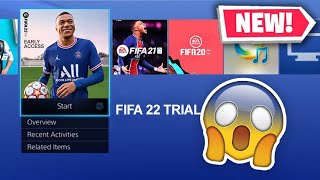 PLAY FIFA 22 TODAY!😱- HΟW TO DOWNLOAD FIFA 22 EARLY ACCESS XBOX & PS5 EA PLAY TRIAL!