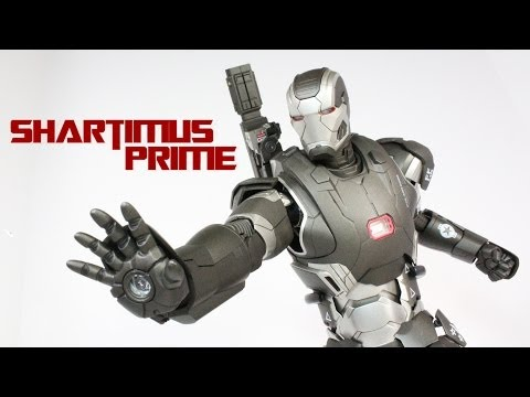 Hot Toys Mark II War Machine Iron Man 3 Movie Figure Review