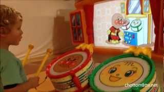Repeat youtube video アンパンマン たいこ (太鼓) どんどん Anpanman Drums