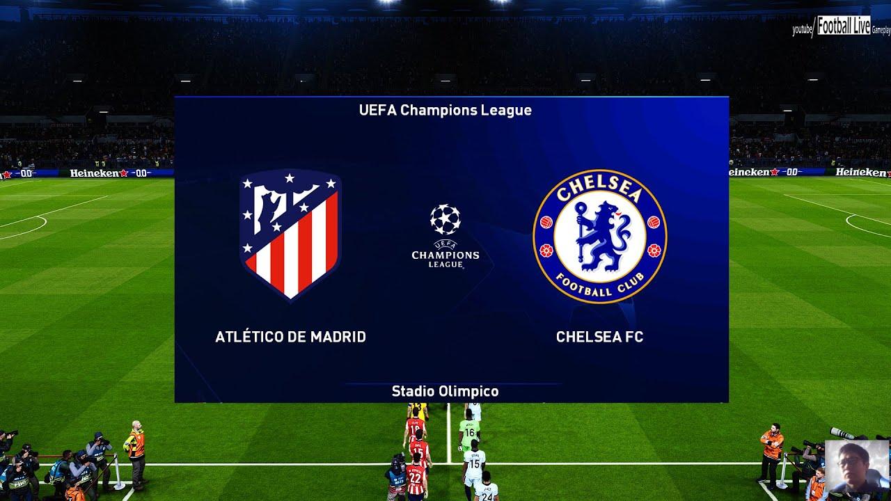 PES 2021 | Atletico Madrid vs Chelsea FC | UEFA Champions League UCL