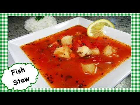 Easy Fish Stew Recipe ~ How To Make Healthy Cod Fish Stew Recipe