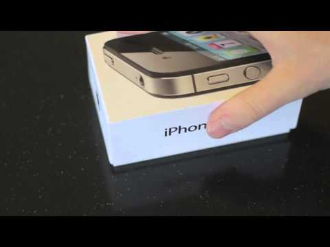 Apple iPhone 4S Unboxing