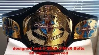 History of the WCW and WWE Tag Team Title Belts