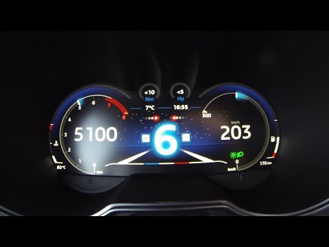 Alpine A110 (2018) Acceleration 0 - 200 exhaust sound