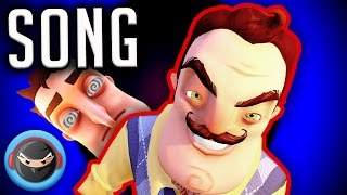 "HELLO NEIGHBOR SONG ""Leave Me Alone"" by TryHardNinja ft. FabvL"
