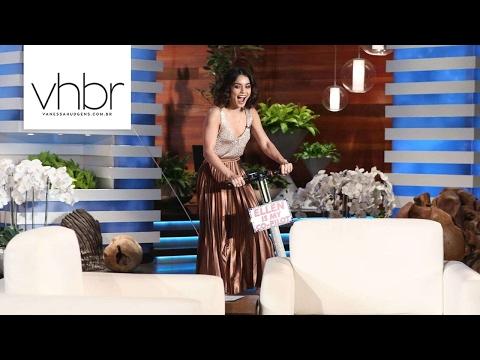 Vanessa Hudgens no The Ellen DeGeneres Show - 060217  Legendas PT-BR
