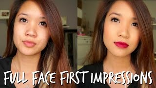 Testing NEW DRUGSTORE Makeup | Full Face FIRST Impressions