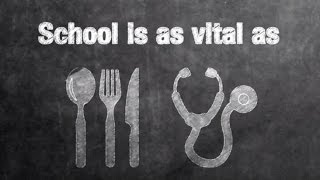 Let's celebrate what school means to us all