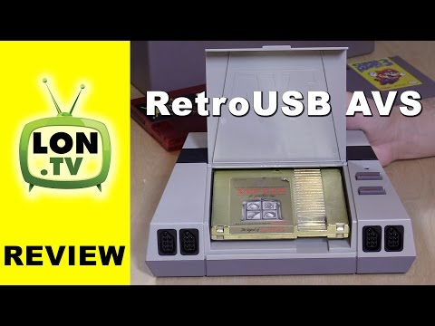 RetroUSB AVS Review - Play Your Old Nintendo (NES) Games on an HD TV - NES Classic Mini Alternative