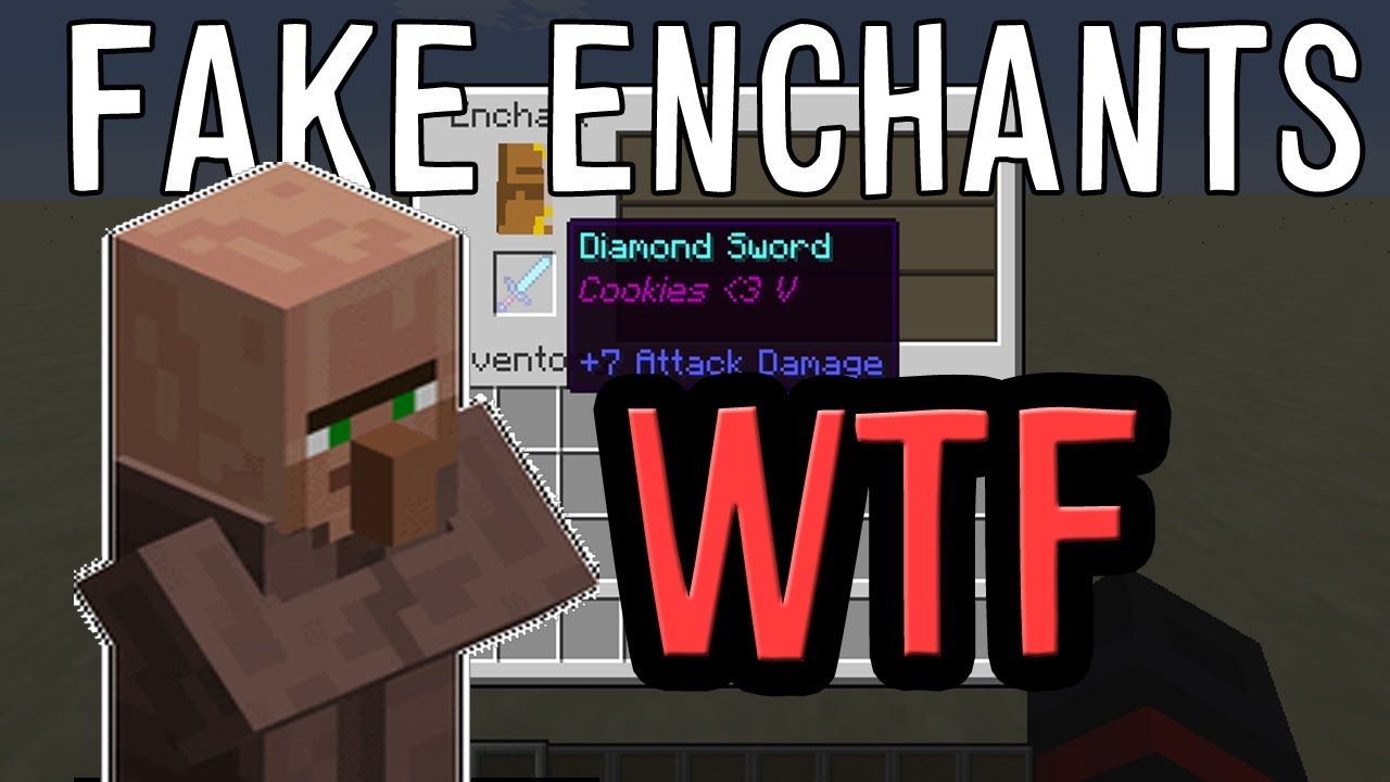 Fake enchantments in Vanilla Minecraft 1.7.2 + Tutorial ...