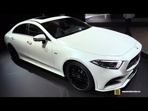 2019 Mercedes CLS Coupe - Exterior and Interior Walkaround -  LA Auto Show