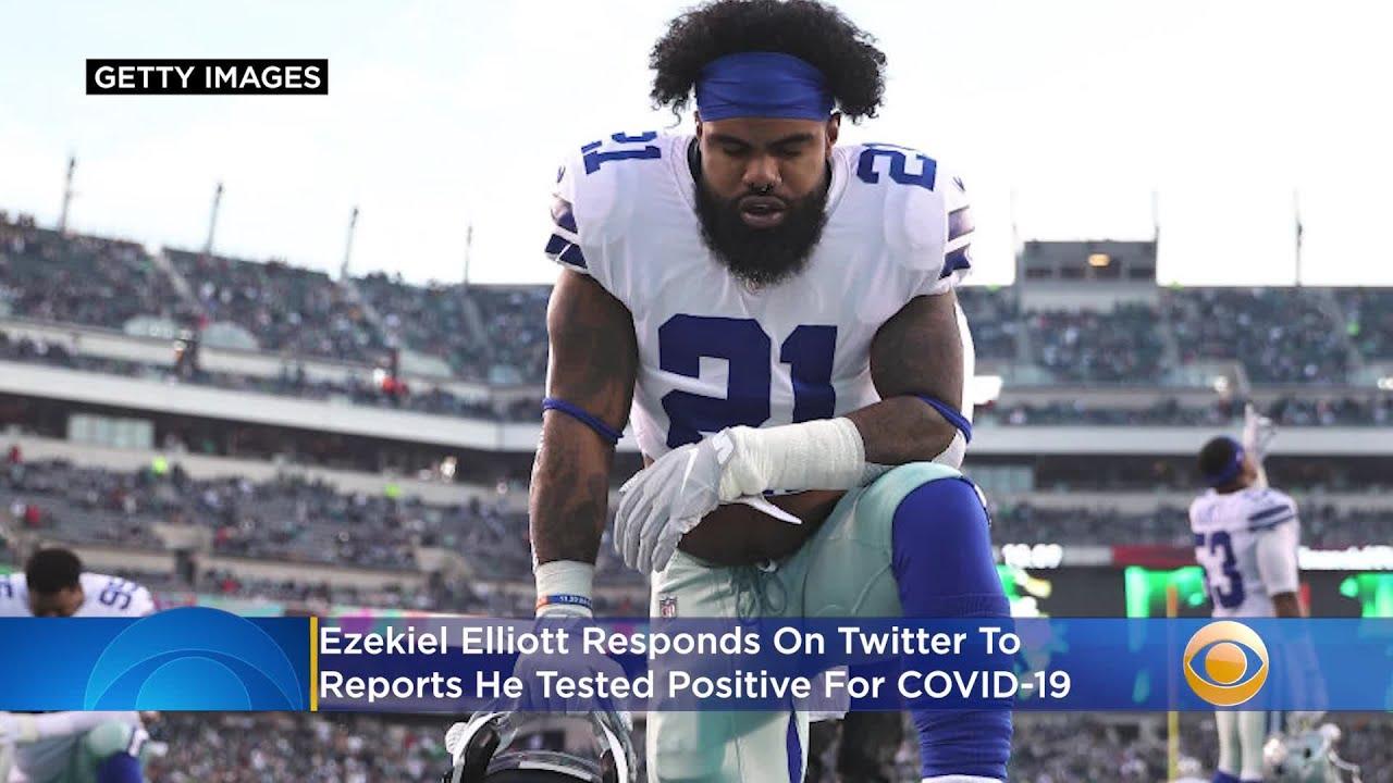 Ezekiel Elliott tests positive for COVID-19, his agent says