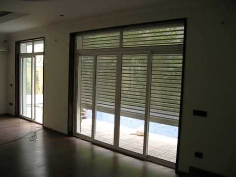 Motorised Rolling Shutters,French Window Shutters,