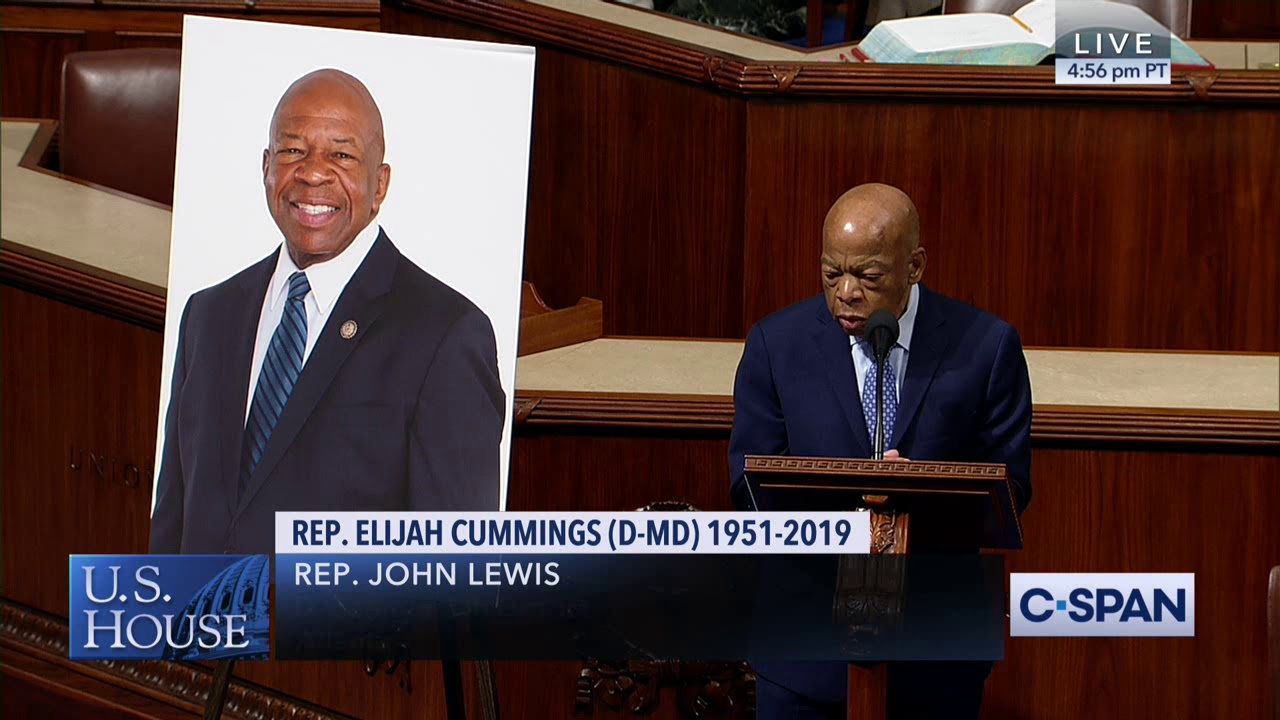 Two GOP senators post photos of Elijah Cummings instead of John ...