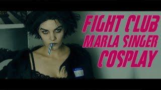 Baixar MARLA SINGER FIGHTCLUB COSPLAY DIY - Make Up, Hair, Costume - Halloween 2017 || Schruppert