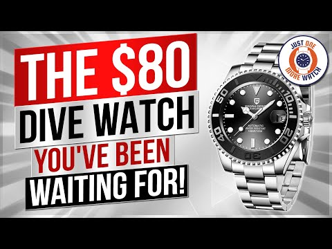 The $80 Dive Watch You've Been Waiting For!