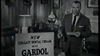 old tv ads commercials from the 50s colgate ad 2