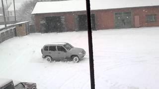 Chevrolet Niva 4x4. Зима 2015. г.Сребное(, 2015-02-16T10:28:51.000Z)
