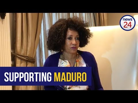 WATCH: SA recognises Maduro as Venezuela's leader and no one else