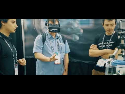 Fab Lab Connect Attends the 2017 Silicon Valley VR Expo