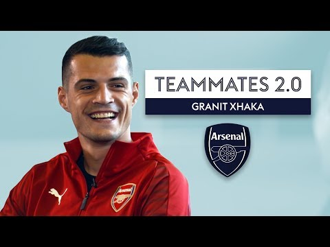 Who is the best player Xhaka has EVER played with?! | Arsenal Teammates 2.0