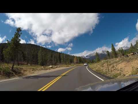 4K - RMNP Trail Ridge Road  w/snow