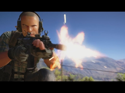 Ghost Recon Wildlands NEW Trailer Open Beta Xbox One/PS4/PC