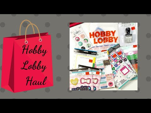 Hobby Lobby Haul | The Happy Planner Girl | Agenda 52 Accessories | Socialite