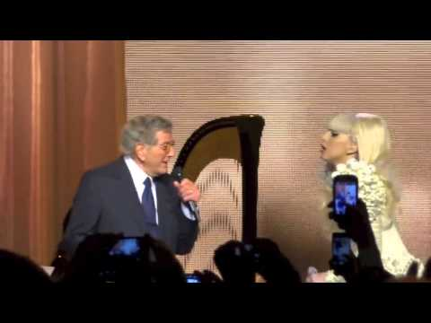 "Lady Gaga & Tony Bennet ""The Lady Is A Tramp"""